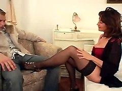 Hairy MILFs Stockings