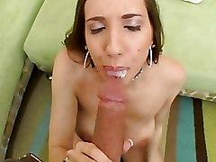 Big Cock Cum Swallowing Kelly Divine POV