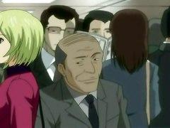 Pleasure Commute Hentai Manga Anime TrainHardcore Big Boobs Hentai Storyline
