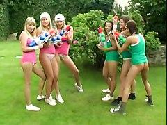 Hardcore Blonde Brunette Teens LesbianHardcore Teens 18  BJ HJ Group Sex