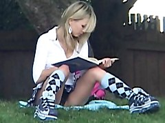 blonde  teen  cute  sweet  polish  european  small tits  skinny  tease  cute  babe  single  solo  schoolgirl  short hose  posing  showing off  park  outside  outdoor  beautiful tits  spread legs  pussy  in clothes Kasia