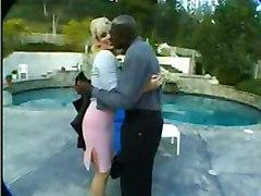 busty big tits breasts boobs pornstar pornstars Lex Steele blonde black cock black ebony