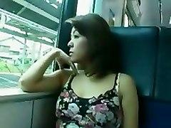 Japanese Train Voyeur Public Teen SexTeens 18  BJ HJ Asian Voyeurism