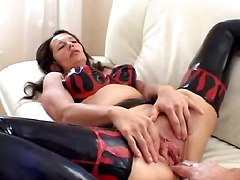latex anal fisting