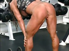 Fbb Muscle Woman Bodybuilder Heat Huge ClitSolo Softcore Other Fetish Bizarre